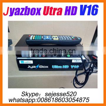 Jyazbox Ultra HD V16 FTA Digital Satellite TV Receiver JyazBox v16 for north america