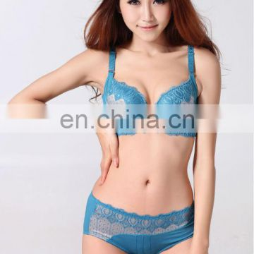 women new brassiere set style Hot young girls sexy underwear panty Trade assurance supplier