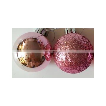 24Pcs christmas decorating ball,christmas ornament, christmas plastic ball