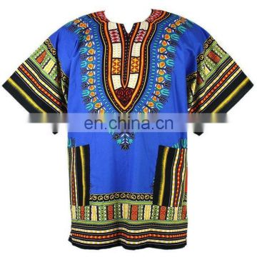 African New Dashiki Mexican Hippie Tribal Caftan Jungo Shirt Free Size Mexican Hippie Blouse Caftan Hippie Boho Dress Plus Size