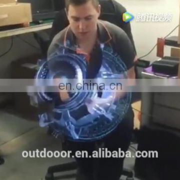 Facoty wifi items for advertising equipment in stock with fast ship hologram projector holographic 3d led fan display