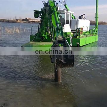 amphibious dredging sand pump for both ship and land 600 to 8000 m3/h capacity