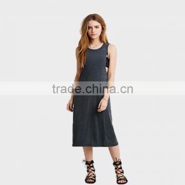 Fashion Dresses sleeveless dress for ladies