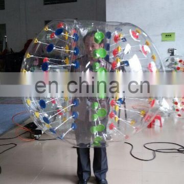 hot sale colorful inflatable ball suit