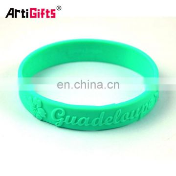 Eco-Friendly 3d embossed pvc material wrist band