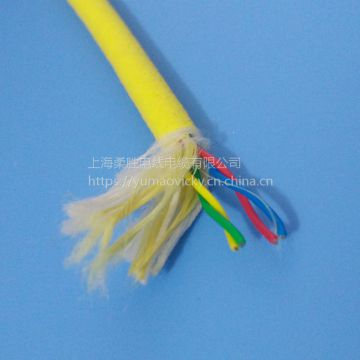 Rov Tether Underwater Cable Cold Resistance Electrical Connection