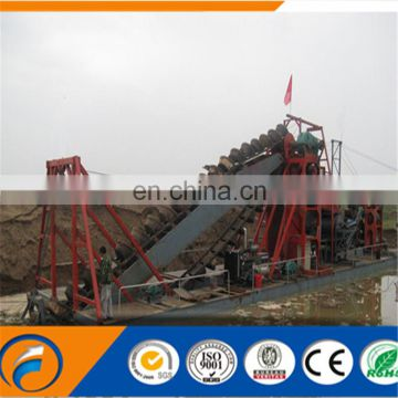 China New Advanced Bucket Chain Dredger for Sale