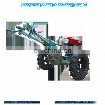 agriculture hand tractor for sale with Seat Rotary cultivator Electric start Wood packing Install video and Random small tools
