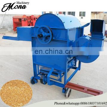 Hot Sale wheat thresher /Soybean sheller with 10HP diesel engine