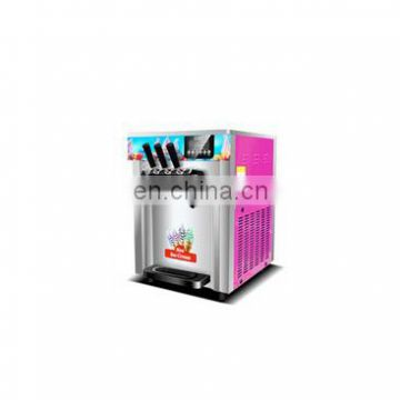 hot sale high quality three different flavors commercial ice cream machine in China