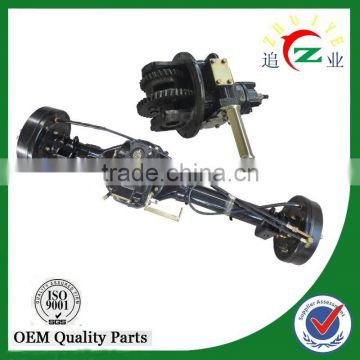 chinese genuine auto rickshaw parts rear bridge of three wheel motorcycle