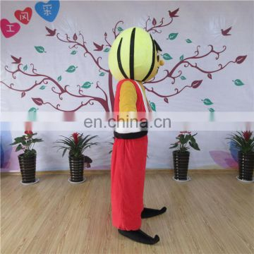 Factory direct sale customized arabian man mascot costume for adults
