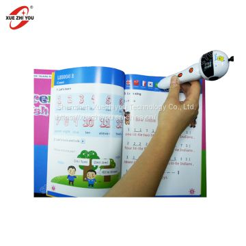 Factory Wholesale Kids OID Reading Pen Children Early Learning Machine English Spanish Talking Pen Smart Point Read Pen