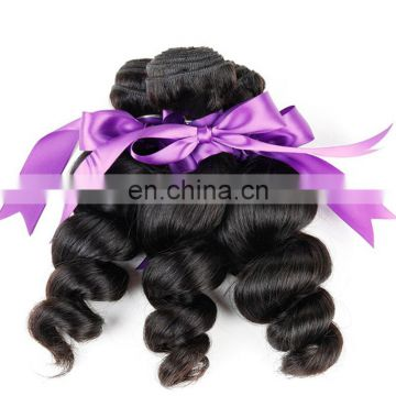 Quality raw loose wave human hair