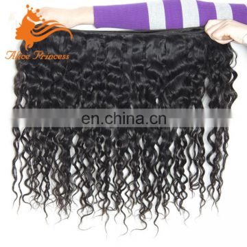 6A Grade Malaysian Hair Weave Bundles Virgin Human Hair Natural Color New Water Wave Style In Stock