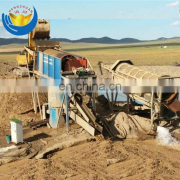 China Manufacturer Alluvial Mining Machine Mobile Gold &Diamond Washing Plant