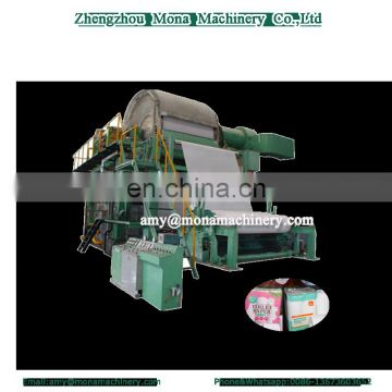 Full automatic wallboard type color glue lamination kitchen towel/toilet paper rewinding machine production line