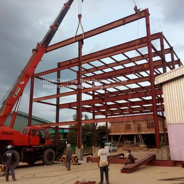 China light steel structural design factory steel structure warehouse producer