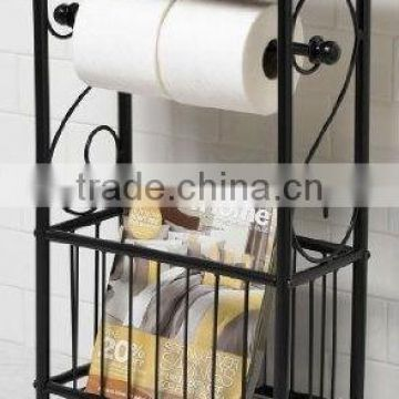 RH-4625 New MDF top Gramercy Scroll Design Bathroom Metal Table