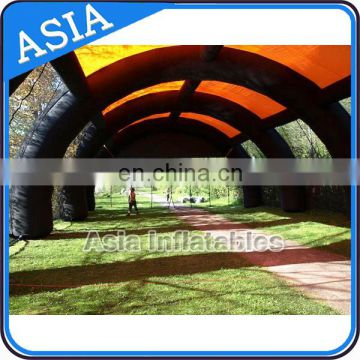 Outdoor Events Giant Inflatable Tunnel Inflatable Paintball Tent For Promotion