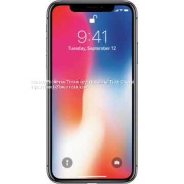 Apple - iPhone X 256GB - Space Gray (Verizon)