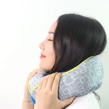 Hot selling on amazon memory foam travel neck pillow gold supplier
