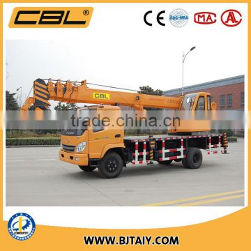 High Quality CBL Mobile Crane with new design lifting winches