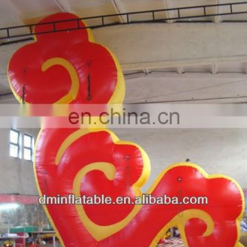 hot selling fashion event decoration inflatable fire YP-17