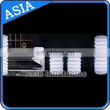 Lighting Inflatable Tower For Event Decoration / Inflatable Column Led Tower