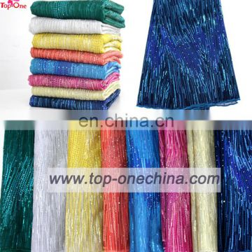 Wholesale tulle lace fabric/african french tulle lace lace fabric/french net tulle lace fabic for wedding party