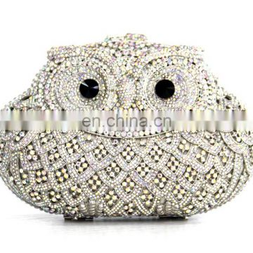 2016 clutch bag/evening bag/crystal wedding clutch bag/evening clutch handbag with stones
