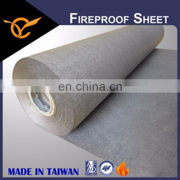 High Quality Fireproof Sheet Thin Thickness Fireproof Paper