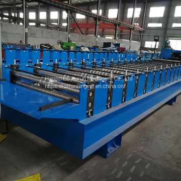Roof Panel Roll Forming Machine for New Design Metal Work Steel Roof Panel Sunroof Sheet Park Leisure Pavilion
