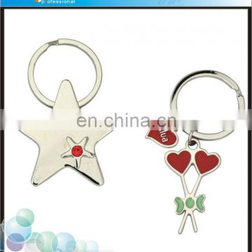 Promotional Star Shaped Keyring