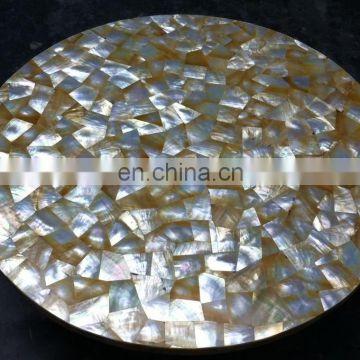 Sea Shell Mother Of Pearl Table Top
