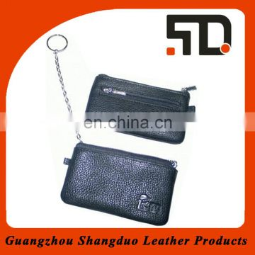 Guangzhou Manufacture Price Promotion Coin Purse in Leather