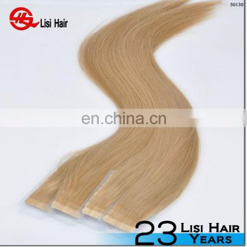 Virgin Brazilian Hair 100% Remy Human Double Drawn Tape Hair Extensions