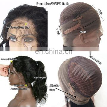 Hair wigs for black men preplucked glueless full lace wig