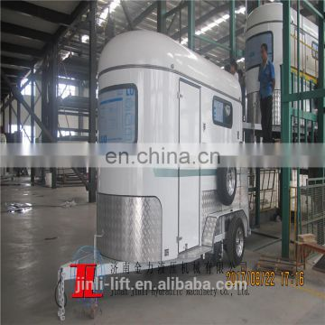 Chinese float with 2 axle extended horse float