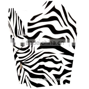 zebra durable take out box with handle