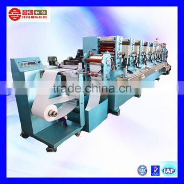 CH-280 Custom product paper adhesive label sticker printing machine