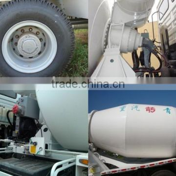 HOWO 6X4 10 WHEEL CONCRETE MIXER TRUCK CHINA SUPPLIER