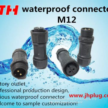 jiahui M12 waterproof connector