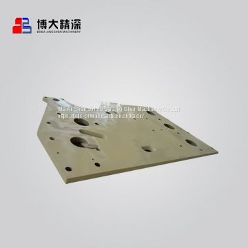 Apply to nordberg jaw crusher spare parts c160 side plate wear plate