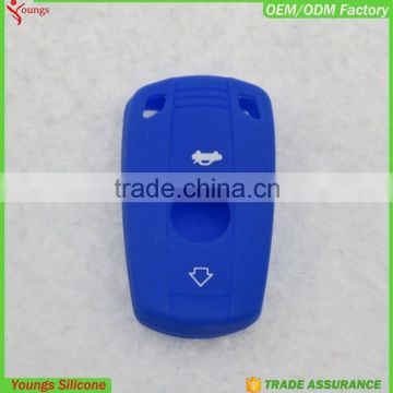 2016 eco-friendly custom colorful silicone rubber car key covers in multi colors                                                                         Quality Choice