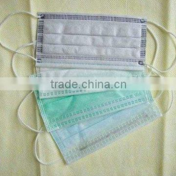 Non-woven Surgical Hygiene Disposable Flu Swine Anti Virus Mask Face
