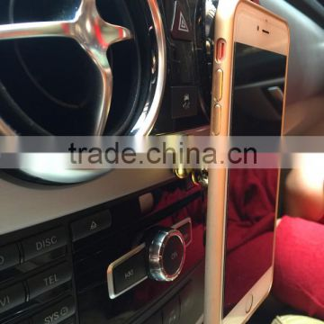 multi-use fancy gold magnetic car mount /car mobile phone holder china made