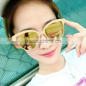 2016 metal fashion new style sunglasses