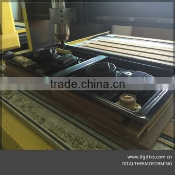 DITAI produce vacuum forming plastic ABS motor tray