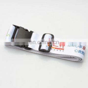 OEM Logo Promotional Luggage Strap Set Top fashion Unique design luggage tag belt